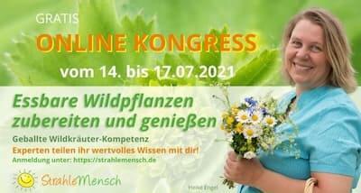 Essbare Wildpflanzen Online-Kongress Header