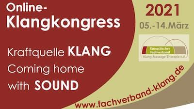 Klangschalen Online-Kongress   LIVE - Coming home with sound