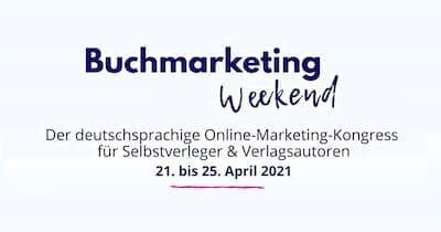 Buchmarketing Weekend Online-Kongress