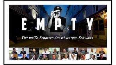 "EMPTY – Film & Onlinekongress   Dokumentarfilm ""1 Jahr Corona"""