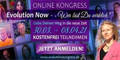 Evolution Now Online-Kongress Header
