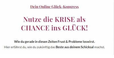 Glück Online-Kongress