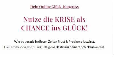 Glück Online-Kongress | Krise als Chance ins Glück