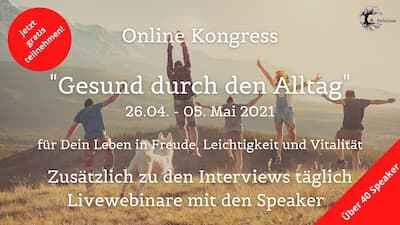 Gesund durch den Alltag Online-Kongress