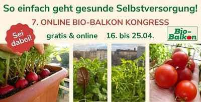 Gesunde Selbstversorgung vom Bio-Balkon Online-Kongress