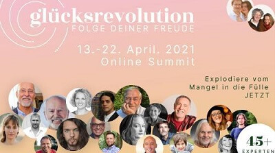 Glücksrevolution Online-Kongress