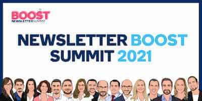 Newsletter Summit Boost Online-Kongress | Für mehr Reichweite