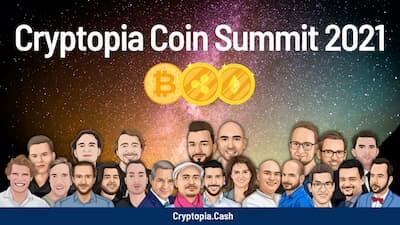 Cryptopia Coin Sumit Header