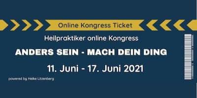 Heilpraktiker Online-Kongress Header
