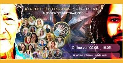 Kindheitstrauma Online-Kongress Header