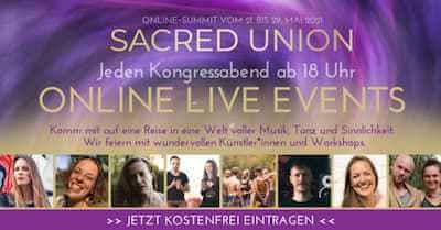 Sacred Union Online-Kongress | Die Kraft der Liebe entfesseln