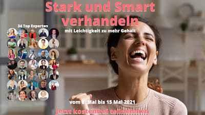 Stark und Smart Verhandeln Online-Komgress