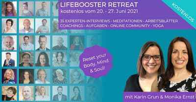Lifebooster Retreat I Reset your body, mind & soul