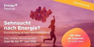 Online Energy-Festival |  Erschöpfung ist kein Normalzustand!