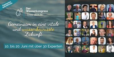 Wasser Online-kongress Header