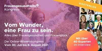 Frauengesundheits Online-Kongress