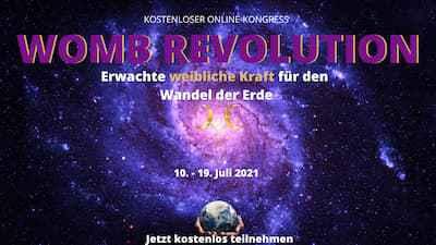 WOMB Revolution Online-Kongress | Weibliche Urkraft spüren